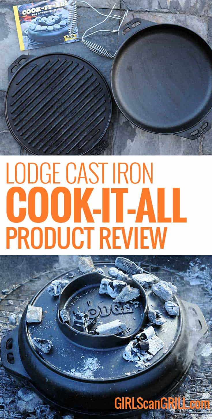 Lodge Cast Iron Cook It All Review Recipes Girls Can Grill