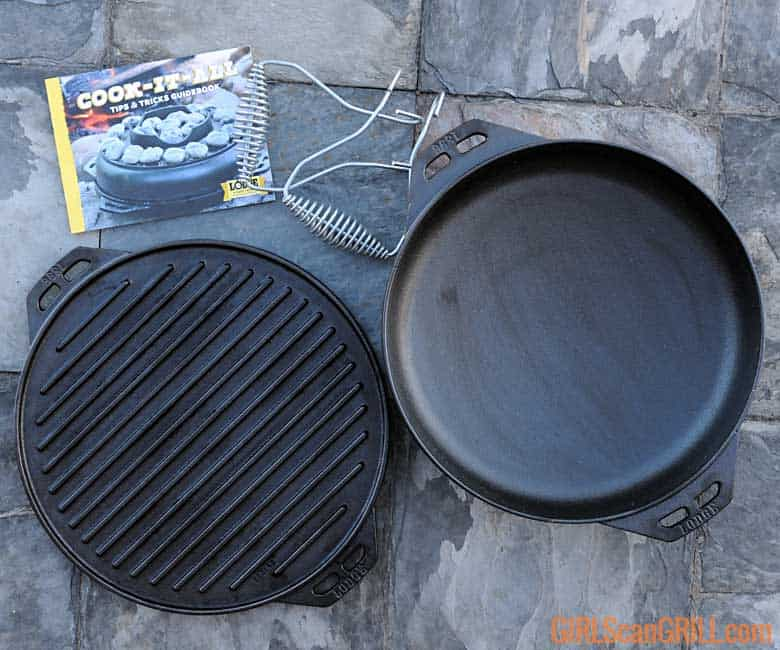 Lodge Cast Iron Cook-It-All pieces