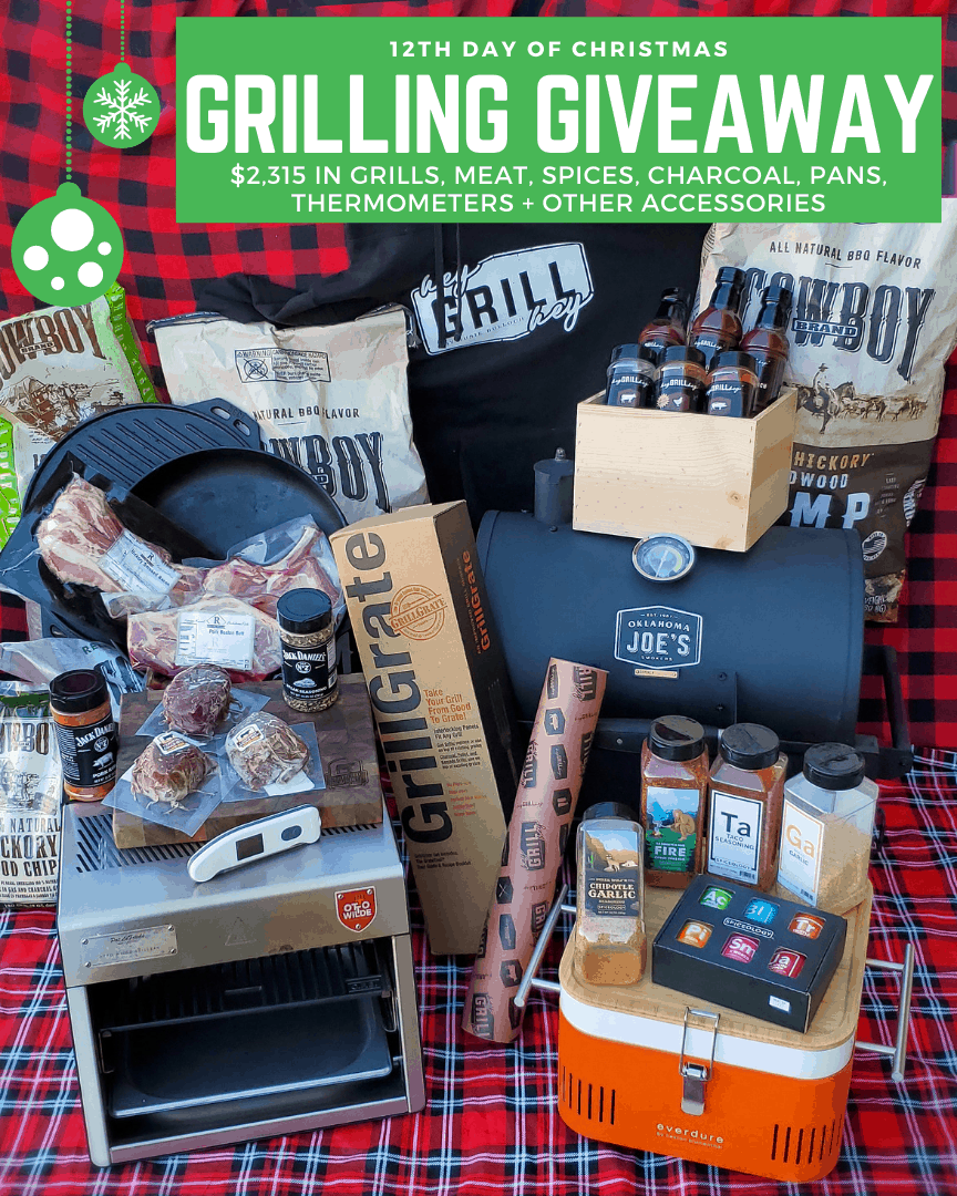 $4,400 worth of barbecues and accessories for grilling giveaway