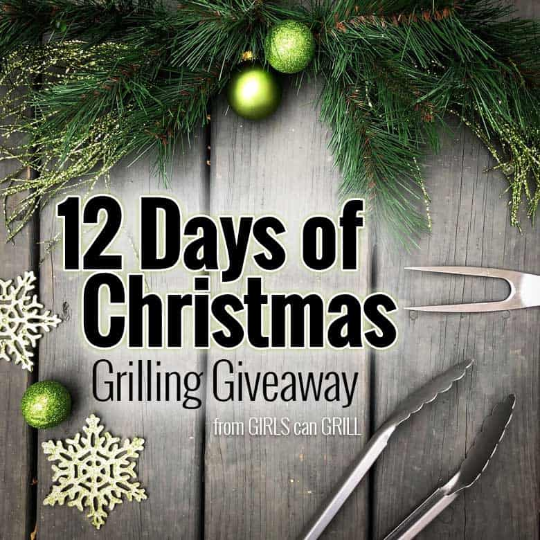 With over $3,000 in prizes, GIRLS can GRILL is hosting the biggest grilling giveaway of the season. Visit @girlscangrill on Instagram Dec. 1-12, 2018, for your chance to win. #12daysofchristmas #grillinggiveaway #giveaway #christmas