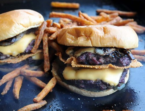 The Secret to Creating a Smoked Smashburger
