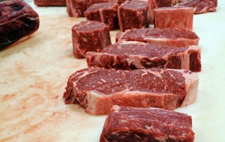 table of beef cuts