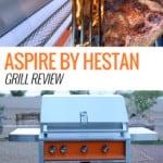 Aspire by Heston Grill in backyard