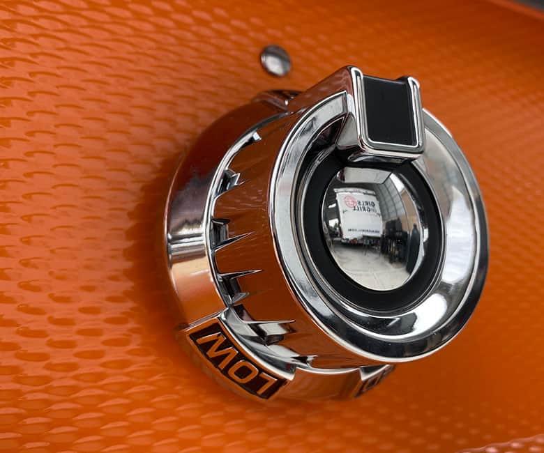 Patented Zamak die-cast knobs