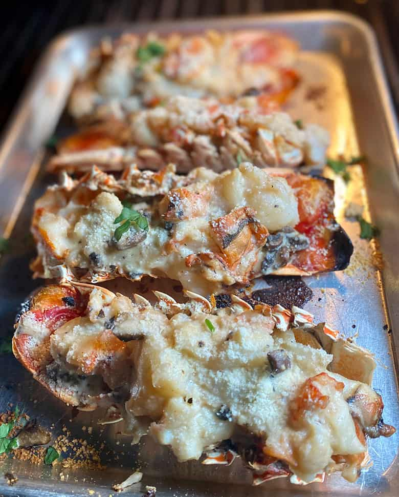 Grilled Lobster Thermidor Girls Can Grill