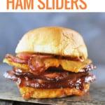 Hawaiian Ham Sliders