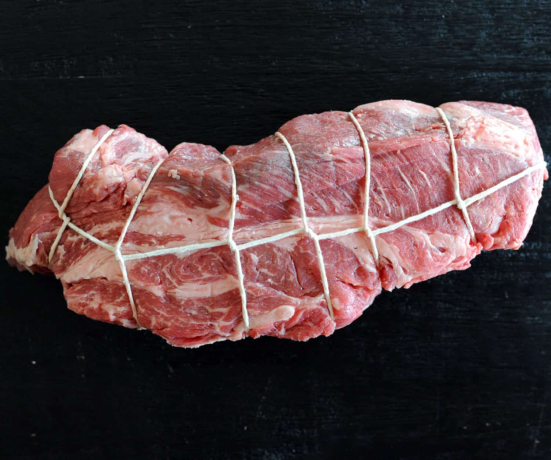trussed beef chuck roast